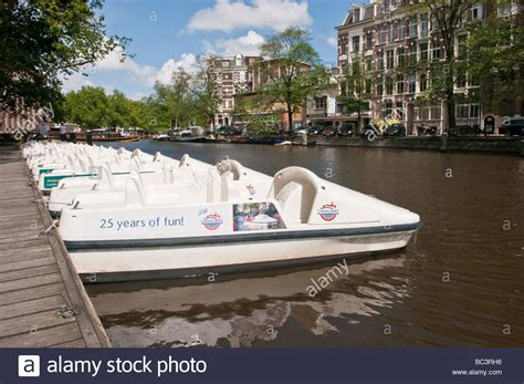 pedal boat hire amsterdam pedalo pedal boats ready for hire on the singelgracht