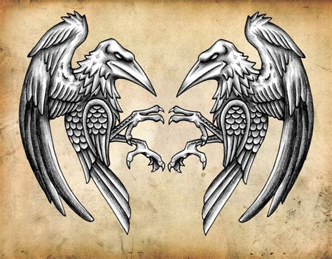norse raven tattoo norse ravens ravens where just as special to the vikings
