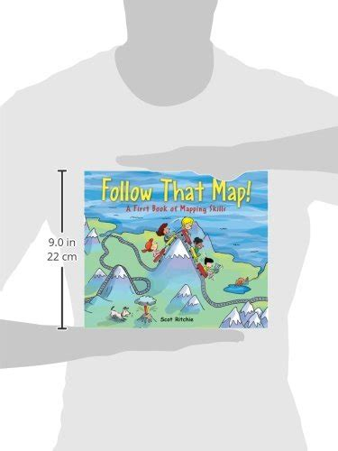 libro follow that map a first look at mapping skills di scot ritchie