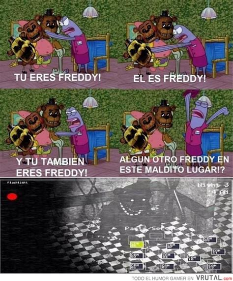 imagenes graciosas five nights at freddy s vrutal todos son freddy