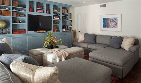 2 sectionals in one room royal blue sectional sofas design ideas