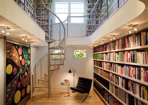 design library modern home library design decoist