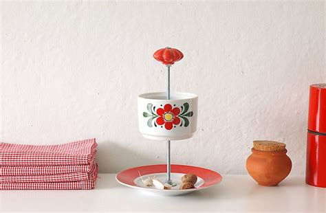 etagere upcycling vintage crockery upcycled into a charming etagere diy