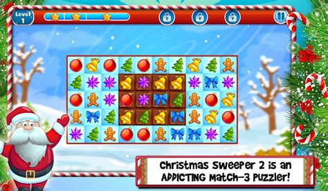 app shopper christmas house decoration free girly games christmas sweeper 2 match 3 android apps on google play