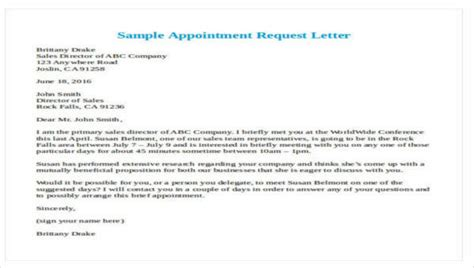 formal request letters sample templates