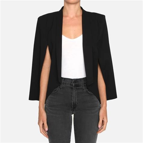 New Blouse Look Like Cape Blazer In Stlye topshop molly blazer rank style