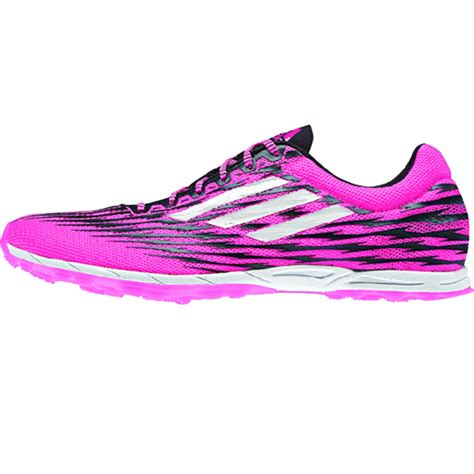 adidas xcs 5 spikeless womens running shoe m18868 pink
