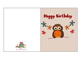 birthday cards to print for free this is another adorable free printable birthday card with a