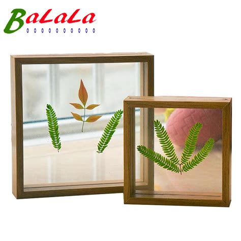 Handmade Wooden Picture Frames - 7 x 7inch sided frame handmade wooden diy picture