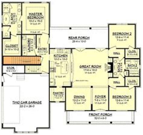 budget bungalow 21977dr 1st floor master suite cad cherry laurel house plan craftsman style house plans