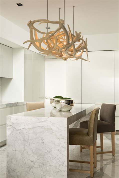 Modern Kitchen Chandelier Antler Chandelier Contemporary Kitchen Michael