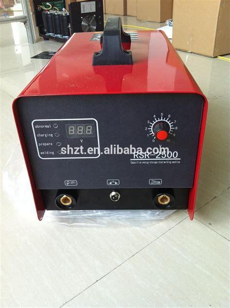 capacitor discharge stud welding machine wholesale rsr 2500 capacitor discharge stud welding machine alibaba