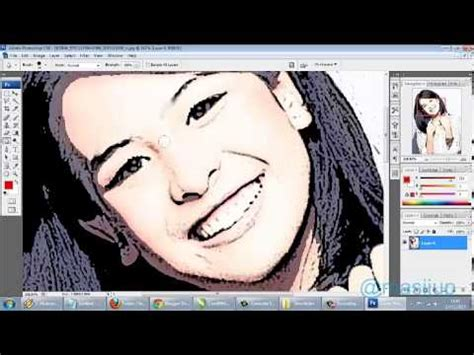tutorial photoshop cs3 vektor membuat foto menjadi kartun dengan filter photoshop cs3