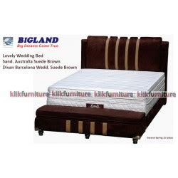 Matras Bigland No 1 wedding bed bigland springbed harga termurah no 1