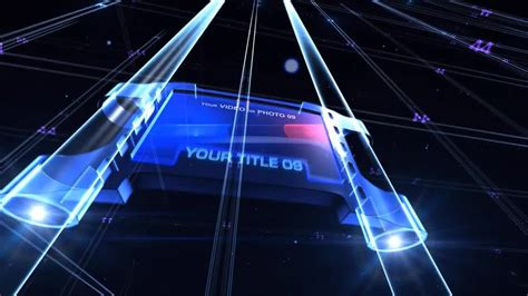 flying neon screens after effects templates motion array