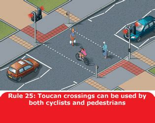 at the crossing for pedestrians 1 to 35 gov uk