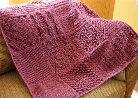 knitted afghan beginner knitting knittingpark afghans