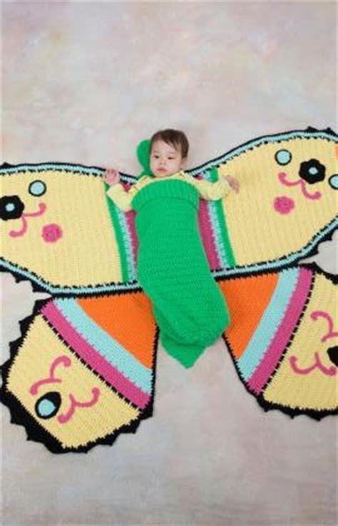 schlafsack und decke baby h 228 kelmuster f 252 r schmetterlings baby decke und schlafsack
