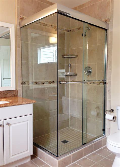 double shower doors  sliding doors showerman