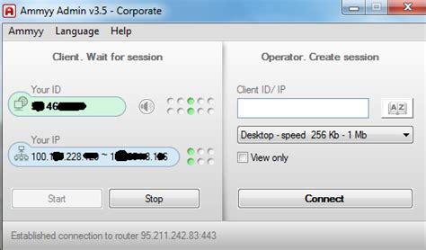 Software Remote Ammyy Admin 35 Corporate ammyy admin 2018 version filehippo