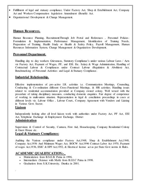 sle hr resume 28 sle resume for mba hr experienced www collegesinpa org