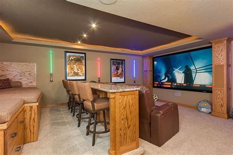 basement photo friday basement theater cool basement ideas for your beloved one homestylediary