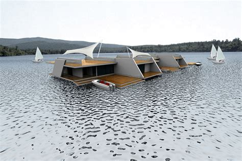 floating homes modern design by moderndesign org