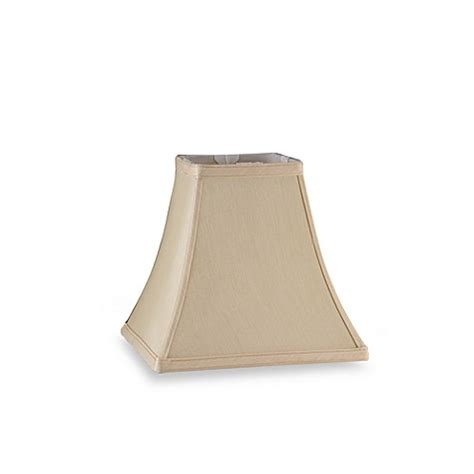 small square l shade mix match small square bell l shade in ivory bed