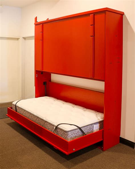 Half Bunk Bed El Segundo California Wall Beds And Murphy Beds Wilding Wallbeds