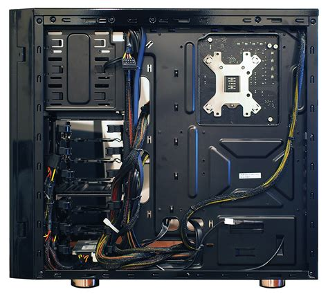 how to cable manage a how to organize cables in your pc pcworld