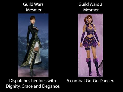 Guild Wars 2 Meme - races and armor classes are really unequal in terms of