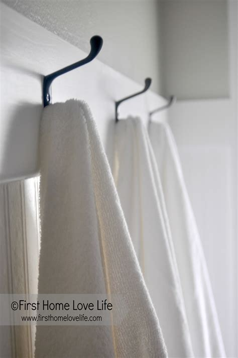 bathroom towel hooks ideas guest bathroom progress and wishlist home