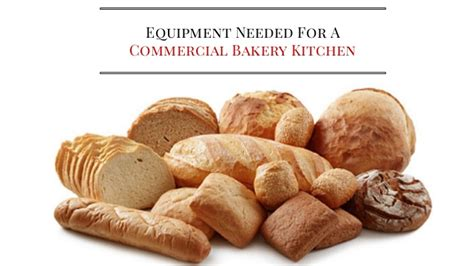 equipment needed for a commercial bakery kitchen