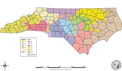 nc house representatives north carolina congressional districts map images frompo