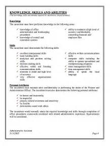 administrative assistant description resume resumes