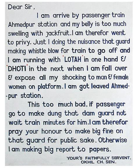 Complaint Letter Toilet Complaining Letter That Got Toilets Installed On India S