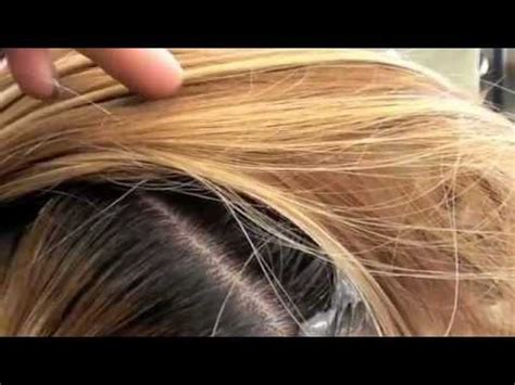 color; lift dark roots with haircolor youtube
