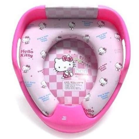 Hello Kitty Toilet Training Board Soft Seat Pink With