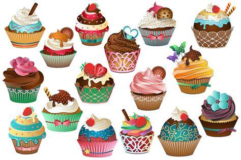 cupcake clipart cupcake clipart vector png jpg illustrations