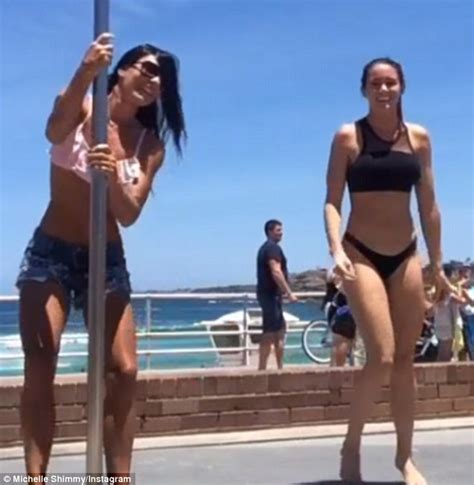 swing tv free my kitchen rules lynzey murphy swings around a pole at