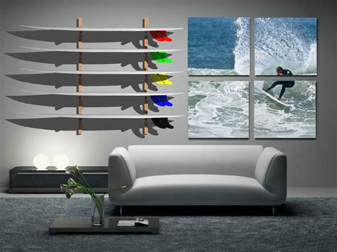Room Rack by Venice Surf Racks Surfboard Wall Racks