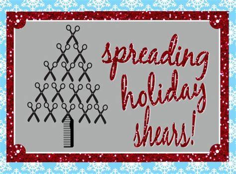 christmas greeting hair stylists items similar to spreading shears hair stylist customer appreciation 20 5x7 flat