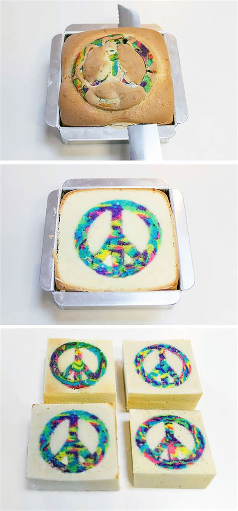 diy cake tie dye cake recipe handmade charlotte