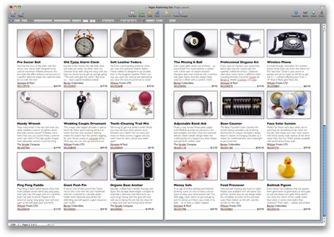publisher catalog template automator exles