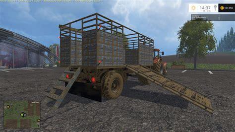 hw animal trailer v 1 0 for fs 15 farming simulator 2015