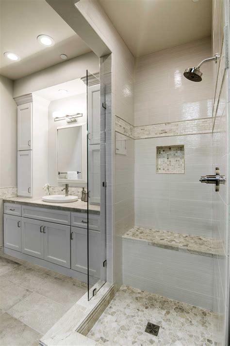 bathroom focal point shower tile onyx broken mosaic