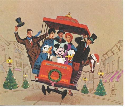 merry christmas  disneyland vintage disney disney posters disney christmas