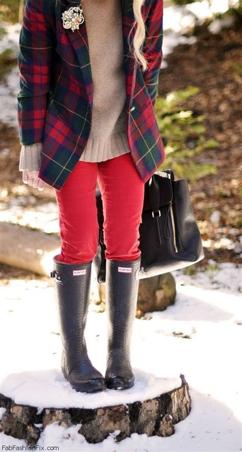 Fashion Find Get Preppy This Winter by Style Guide How To Style And Wear Boots Fab