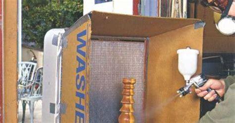 spray painting near furnace how to make a simple spray paint box a box fan a furnace
