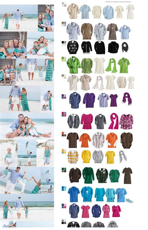 family photo color ideas family photo ideas on pinterest what to wear family
